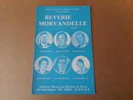 Partitions -  Rêverie Morvandelle - Spartiti