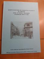 Société D'histoire Des Israélites D'Alsace Et Lorraine. Juifs. Colloque Strasbourg - 1901-1940
