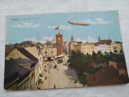 Zeppelin On Cottbus Spremberger Tor - Dirigeables