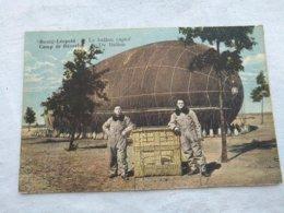 Zeppelin Kamp Van Beverlo-Bourg-Leopold .Le Ballon Captif- De Ballon - Dirigeables