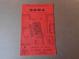 Partitions -  Dora - Spartiti