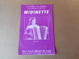 Partitions -  Midinette - Spartiti
