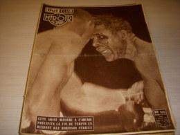MIROIR Des SPORTS 315 17.09.1951 BOXE ROBINSON TURPIN VELO NATIONS KOBLET DIOT - Sport