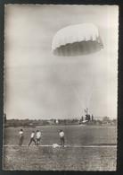 CPSM Chalon Champforgeuil - C.I.C. De Parachutisme - Circulée - Chalon Sur Saone