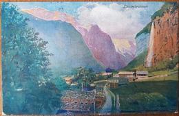 Switzerland Lauterbrunnen 1911 - Suisse
