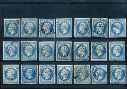 [J7526] France - 21 X 14A  Gestempeld / Oblitéré - 1853-1860 Napoleon III