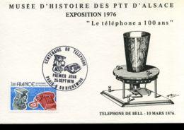 [J10101]  Frankrijk - MK - Le Téléphone A 100 Ans - Cartoline Maximum