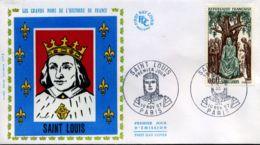 [J10904]  France - FDC -  1539 - Louis IX - 1960-1969