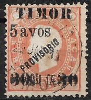 Timor – 1894 King Luiz Overprinted - Timor