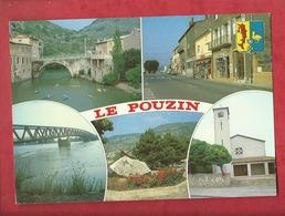 CPM  - Le Pouzin    - (Ardèche)   Multivues  - Multivue - Le Pouzin