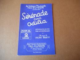 Partitions -  Sérénade Pour Odilia - Spartiti