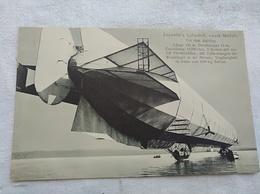 Zeppelin's Luftschiff, Neunes Modell From Der Aufstieg - Dirigeables