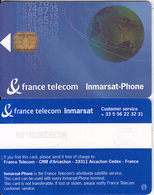FRANCE - Globe, France Telecom Inmarsat Phone, Satellite Phonecard, Tirage 500, Used - Espace