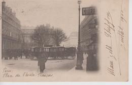 CPA Précurseur Paris - Incendie Du Théâtre Français (8 Mars 1900) - Avec Ambulances Croix-Rouge - Autres