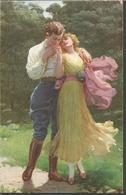 DIE LIEBE LOVE, PC, Circulated - Ansichtskarten