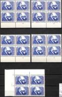 NB - [848936]TB//**/Mnh-Belgique 1958 - N° 1063, Violon, Eugène Ysaye, Bd4, Cdf Daté + Les 4 N° Planche, Musique, SNC - Muziek