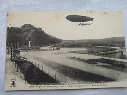 Zeppelin's Luftschiff, Sain-gaimin-en Faye - Dirigeables