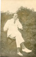 SIERRA LEONE - 1920 - Untitled And Unidentified Man - Peudembu Faded RPPC - Photographie