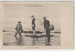 - La Tranche - Sur -  Mer : La Pêche Aux Crevettes. - La Tranche Sur Mer