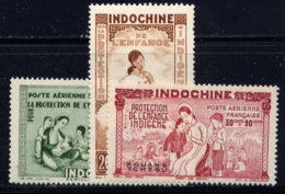 FRANCE (OFF. IN CHINA), SET, NO.'S CB1-CB3, MNH-MH / SEE NOTE - Kouang-Tcheou (1906-1945)