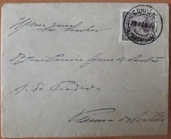 Portugal - COVER - Stamp: 5 Reis D. Manuel II (1910) - Cancel: Lisboa Gare + Viana Do Castelo (Vianna Do Castello) - 1910 : D.Manuel II