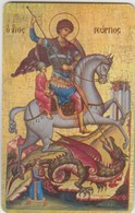 GREECE - Saint George, Exhibition At Athens(Parthenon Club), Tirage 500, 04/11 - Griechenland