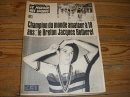 MIROIR Des SPORTS 1095 06.09.1965 CYCLISME CHPT MONDE BOTHEREL SIMPSON BOXE CLAY - Sport