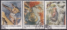 Cyprus 1986 SG #692-94 Compl.set Used Christmas - Cyprus (Republic)