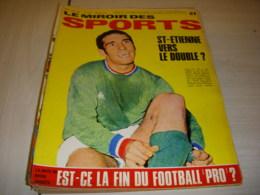 MIROIR Des SPORTS 1235 09.05.1968 FOOT St ETIENNE BOSQUIER BASKET STAELENS - Sport