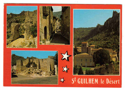 34 Saint St Guilhem Le Désert Vers Gignac Crée Sous Charlemagne Sous Le Nom De GELLONE Abbaye - Gignac