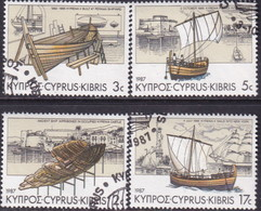 "Cyprus 1987 SG #706-09 Compl.set Used Voyage Of ""Kyrenia II"" - Cyprus (Republic)"
