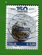 Italia ° -  2017 - QUOTIDIANO LA STAMPA   Usato. - 6. 1946-.. República