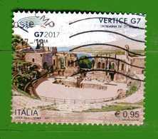 Italia ° -  2017 - VERTICE G7.   Usato. - 6. 1946-.. República