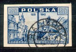 Polska Polen 1945 - Fischer 381 O RACIBORZ - 1944-.... Republik