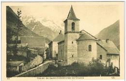 SAINT  CHRISTOPHE  En  OISANS .38. Eglise Et Rue. - Other Municipalities