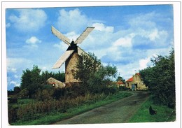 """PAYS  De  RETZ . 44 . Moulin A Situer """" La Bernerie """"1967 - France"""