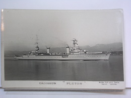 CROISEUR PLUTON - MARIUS BAR PHOTO TOULON - Guerre