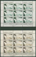 Jugoslawien 1980 KSZE Madrid Friedenstaube Kleinbg. 1857/58 K Gestemp. (C93634) - Blocks & Sheetlets