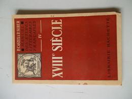 MANUEL DES ETUDES LITTERAIRES FRANCAISES XVIIIe SIECLE Par Pierre-Georges CASTEX & Paul SURER - Libros, Revistas, Cómics