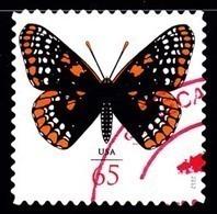 Etats-Unis / United States (Scott No.4603 - Baltimore Checkerspot Butterfly) (o) - Usados