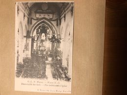 OLVrouw Waver Waver Notre Dame Binnezicht Der Kerk Vie L Intérieure De L église Druk Hendrix Avenue Plantyn Anvers - Sint-Katelijne-Waver