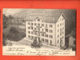 FPA-08  Grand Hôtel De Finhaut Finshauts.  CPN 2253, Dos Simple, Circulé 1904 Vers France - VS Valais