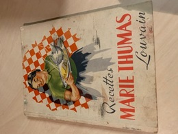 Recettes MARIE THUMAS - Louvain - Vecchi Documenti