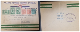 O) 1930 BRAZIL, BARTHOLOMEU DE GUSMAO -SC C22 2000r, OIL - ENERGY - ATLANTIC REFINING COMPAÑY OF BRAZIL,FROM NYRBA MACE - Brazil