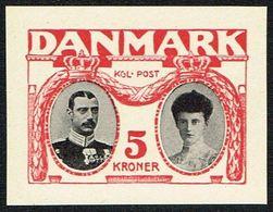 1930. Chr. X 5 Kr.  Essay. Violet/black. () - JF166953 - Probe- Und Nachdrucke