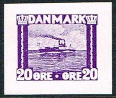 1930. Essay. Ferry. 20 øre. () - JF166974 - Probe- Und Nachdrucke