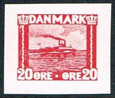 1930. Essay. Ferry. 20 øre. () - JF166976 - Probe- Und Nachdrucke