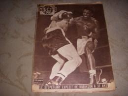 MIROIR Des SPORTS 625 06.05.1957 BOXE ROBINSON CYCLISME FLECHE WALLONE IMPANIS - Sport