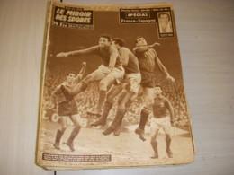 MIROIR Des SPORTS 677 17.03.1958 FOOT FRANCE ESPAGNE BOXE HUMEZ BASKET BEUGNOT - Sport