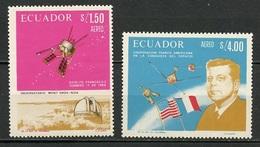 Espace 1967 Equateur - Ecuador Y&T N°PA464 à 465 - Michel N°(?) *** - Coopération Spatiale - Südamerika